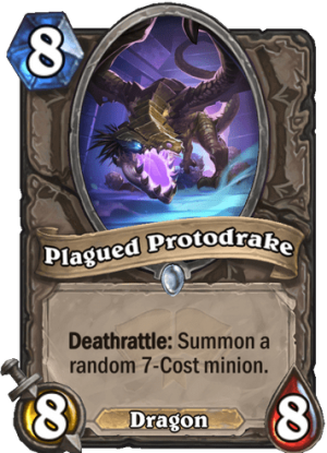 Plagued Protodrake Card