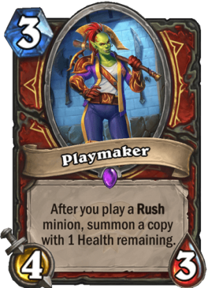 Playmaker Card