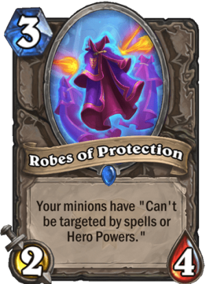 Robes of Protection Card