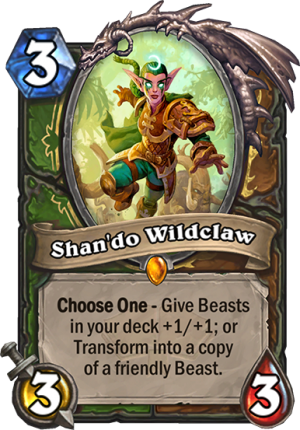 Shan'do Wildclaw Card