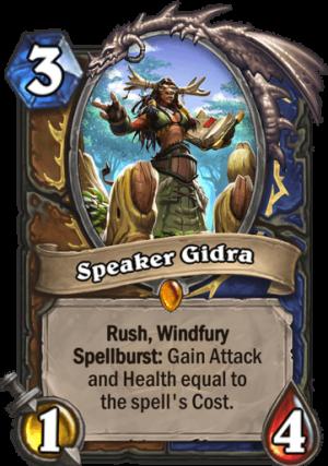 Speaker Gidra Card