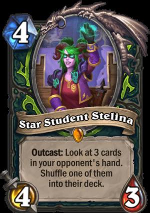 Star Student Stelina Card