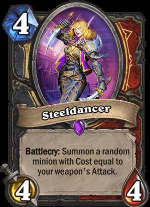 Steeldancer Card