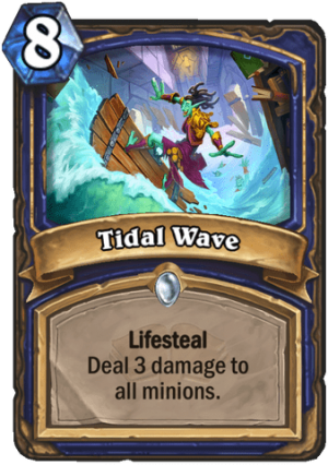 Tidal Wave Card
