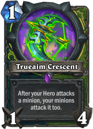 Trueaim Crescent Card