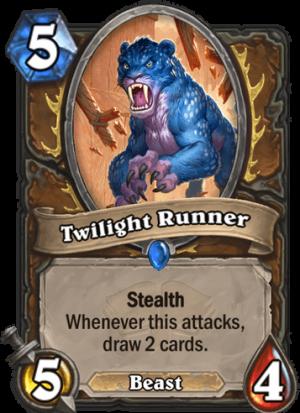 Twilight Runner Card