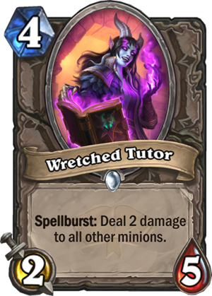 Wretched Tutor Card