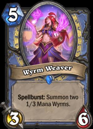 Wyrm Weaver Card