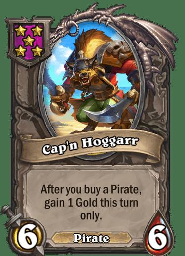 Cap'n Hoggarr Card!