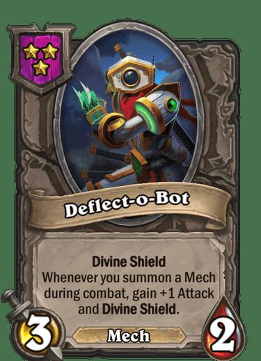 Deflect-o-Bot Card!