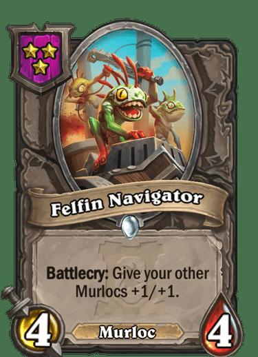 Felfin Navigator Card!